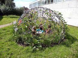 Garden Diy Crafts - 21 brilliant diy ways of reusing old bike wheels amazing diy