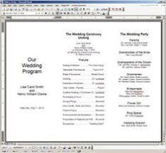 wedding program templates free online create a wedding program with these stylish free templates