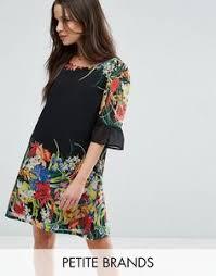 image 4 of floral print linen dress from zara zana u0026katanna