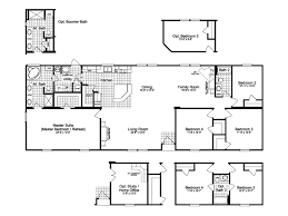 greystone homes floor plans the greystone ft28764c manufactured home floor plan or modular floor