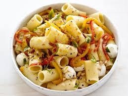 roasted pepper pasta salad recipe food network kitchen food