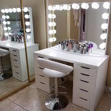 Ikea Bedroom Vanity Best 25 Makeup Vanity Mirror Ideas On Pinterest Mirror Vanity