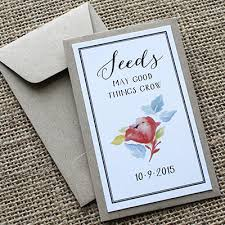 custom seed packets 10 must see bridal shower party theme ideas