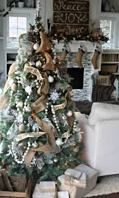 tree ribbon marvelous top best garland ideas