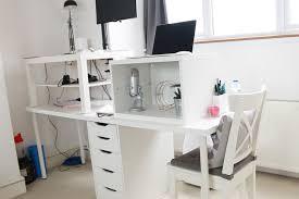 Stand Up Computer Desk Ikea by Diy Built In Desk Ikea Decorative Desk Decoration