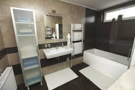 medium bathroom ideas black and tan bathroom ideas also featuring black varnished wooden