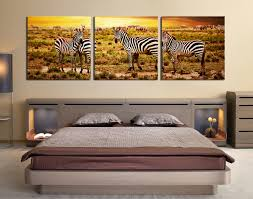 3 piece canvas wall art yellow huge canvas print zebra photo 3 piece large pictures bedroom canvas wall art zebra group canvas animal art