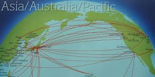 Condor Airlines Route Map by The Timetablist Delta U0027s Transpacific Routes January 2012