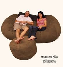 Cozy Sac Vs Lovesac How About One Of Them Giant Bean Bag Chairs Malelivingspace