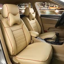 couvre siege cuir siège de voiture automobile couvre pu en cuir coussin pour