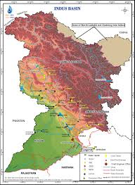 Map Of Punjab India by Indus Up To Border
