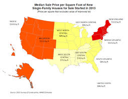 Squar Foot Where Are Sale And Contract Prices Per Square Foot Highest Eye