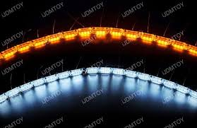 led light strip turn signal switchback led strip lighting for headlight with sequence turn signal