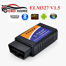 car check engine light code reader obd2 elm327 v1 5 bluetooth diagnostic scanner can bus elm 327