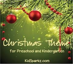 preschool christmas theme activities and printables kidsparkz