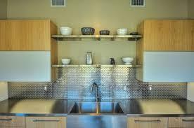 metallic kitchen backsplash make a statement with a metallic kitchen backsplash