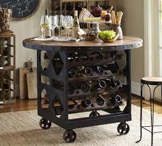 wine tables and racks industrial wine rack furniture with wheels jpg 1000 900
