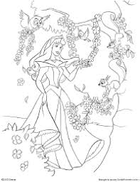 innovative ideas princess aurora coloring pages disney sleeping