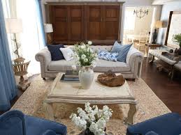 French Livingroom by French Country Blue Living Room Carameloffers