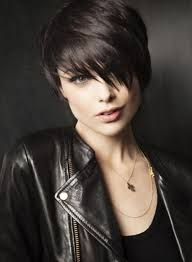 very short edgy haircuts for women with round faces fantastic jawline and flawless hair nice haircuts pinterest