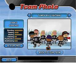 backyard hockey 05 team photo by raidpirate52 on deviantart