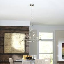 brushed nickel chandelier with crystals iron chandeliers rustic allen roth brushed nickel and chandeliers