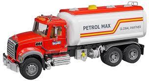 bruder fire truck bruder mack granite tanker toy truck 02827 kids play new auth dealer