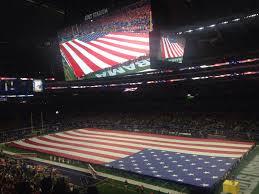 Cowboys Flag At U0026t Stadium Section 304 Dallas Cowboys Rateyourseats Com