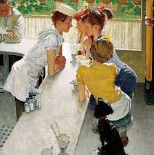 norman rockwell american painter illustrator mayaguana isle rock