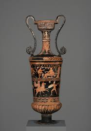 Ancient Greek Vase Painting Dangerous Perfection Funerary Vases From Southern Italy The