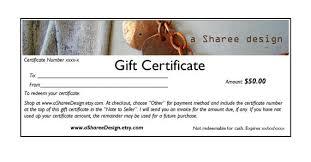 make gift cards etsy gift certificate guide 3 methods handmadeology