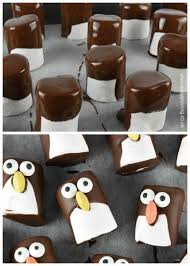 Christmas Party Food Kids - marshmallow penguins fun food tutorial eats amazing
