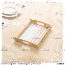 monogrammed serving platter modern pastel color monogram serving tray serving trays