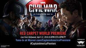 watch red carpet premiere marvel u0027s captain america