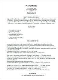 machine operator resume sample jennywashere com