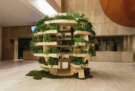 a garden sphere that feeds a neighborhood luxe light and home