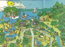 Six Flags New England Map by Map Of Magic Mountain California Google Search Favorite Places