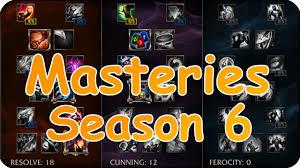 masteries rework season 6 league of legends german