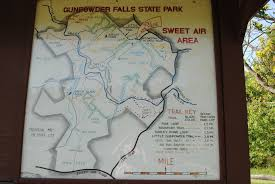 Patapsco State Park Map by Barley Pond Trail And Sweet Air Area Laura J Walter