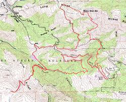 Buckeye Trail Map Mount Diablo Mothers Diablo Ranch Buckeye Trails Bay Area