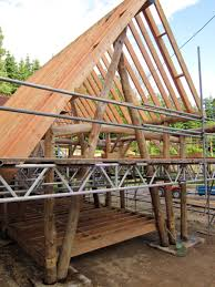 round wood timber cruck frame outline things i love pinterest