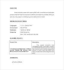 Download Fresher Resume Format Sample Resume For Software Engineer Fresher Printable Civil