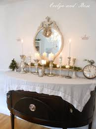 Buffet Sign Holders by Evelyn And Rose 2013 Tour Nordic Christmas Dining Room