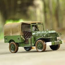 old military jeep willis jeep car models retro metal iron to do the old military