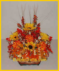 thanksgiving bouquet thanksgiving craft ideas flower and candy basket