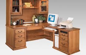 Solid Wood Corner Desk Desk Black Wooden Computer Credenza Desk With Hutch Using