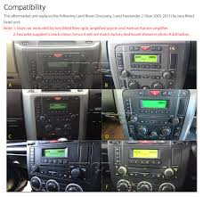 land rover discovery 2007 car dvd player land rover discovery 3 freelander 2 stereo radio