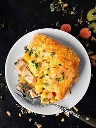 leftover turkey cornbread casserole recipe thanksgiving leftovers