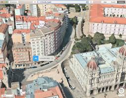 New Spain Map by Apple Maps Adds 23 New Flyover Locations