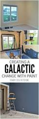outerspace paint creating a galactic change creating an outer space boys bedroom starts with a huge galactic change in paint color